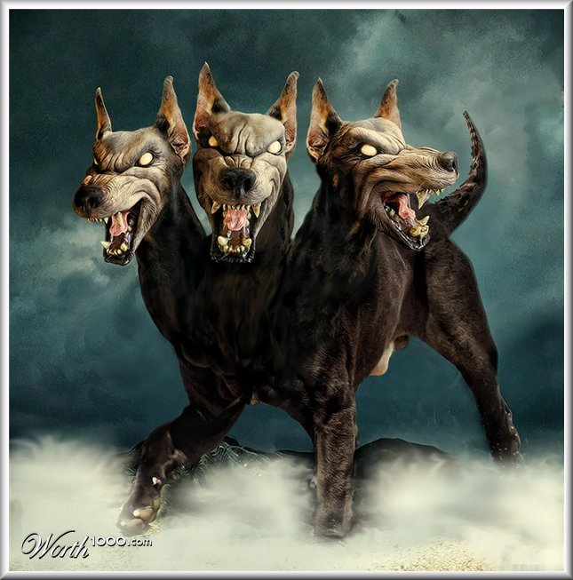 Myth Man's Cerberus