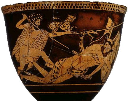 Dionysus kills a Giant