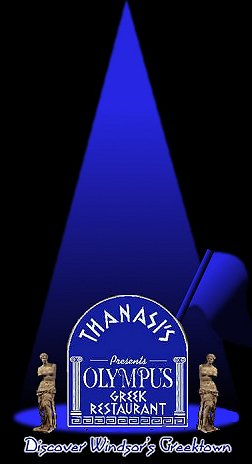 Enter Thanasi's Greek Restaurant